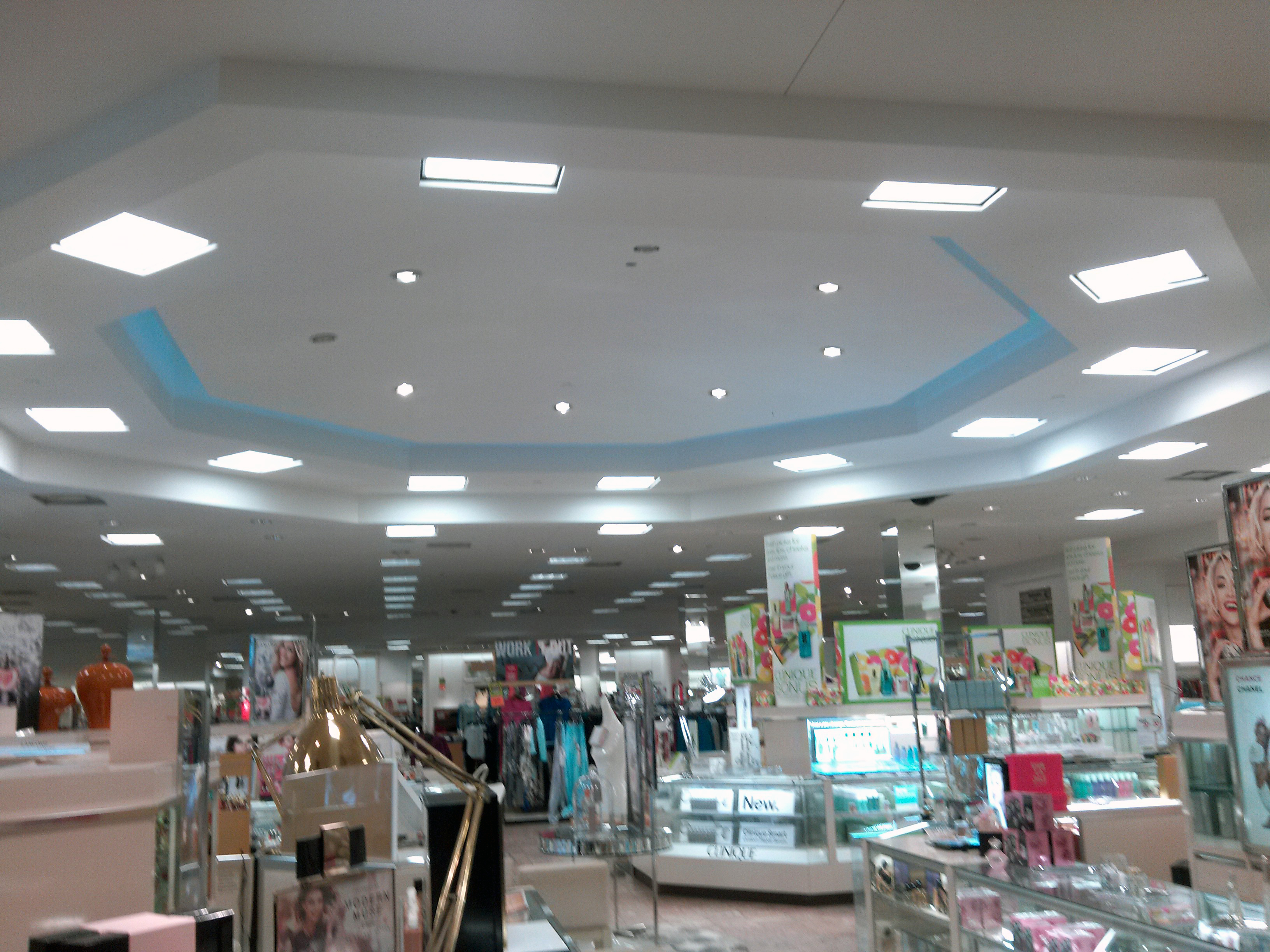 Department Store Lighting Installation