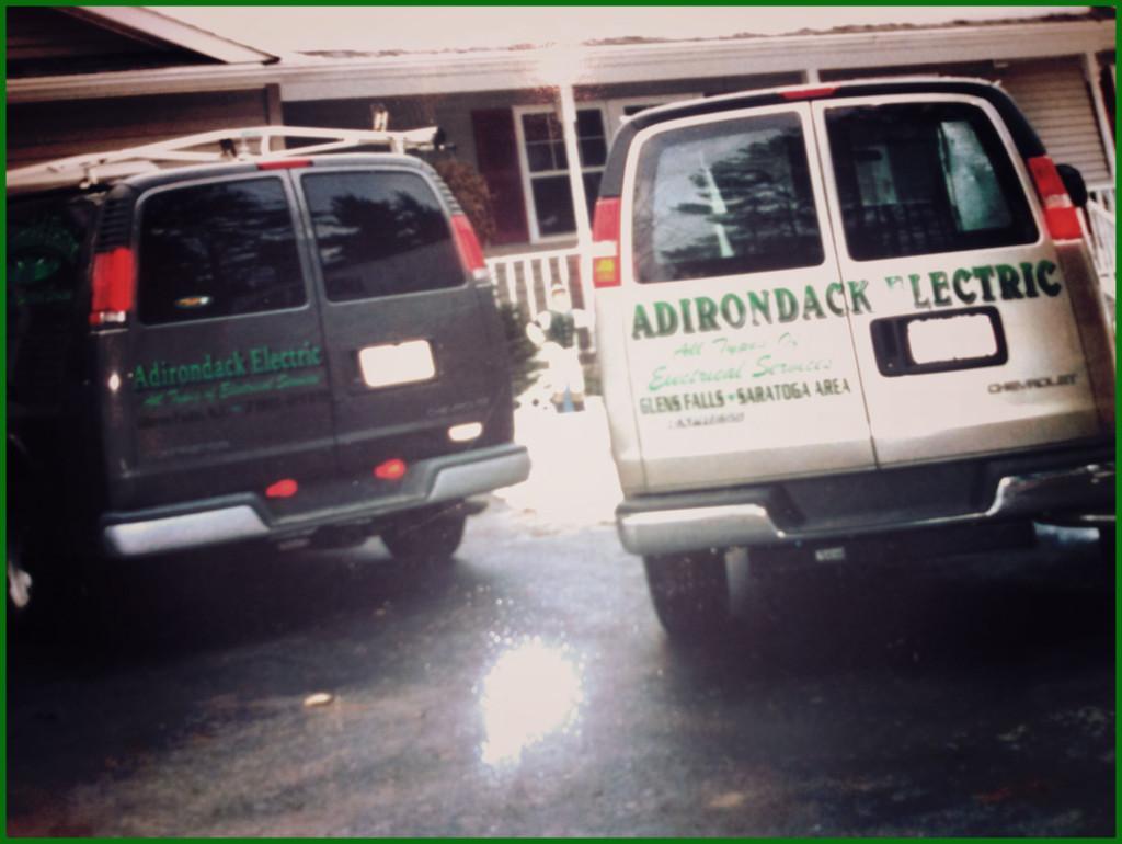 Adirondack Electric Service Vans