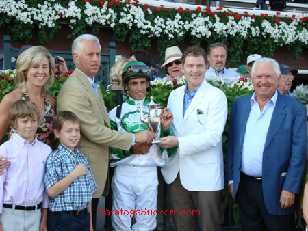 Saratoga Race Track Winners Circle